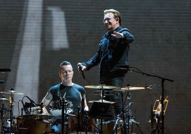 Zanger Bono van U2 Beeld afp