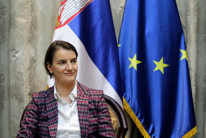 De Servische premier Ana Brnabic hoopt dat de Servische bevolking weer gaat groeien.
