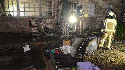 Flink wat schade na keukenbrand in landelijk gelegen woning