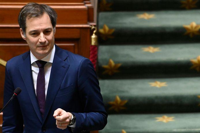 Premier Alexander De Croo maakte de verdeling maandagavond bekend.