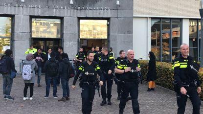 Grote politiemacht bij Technische Universiteit Delft na vals alarm mogelijk gewapende man