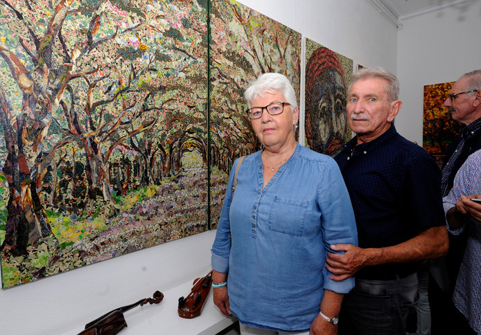 Anne en Frans van der Stelt.