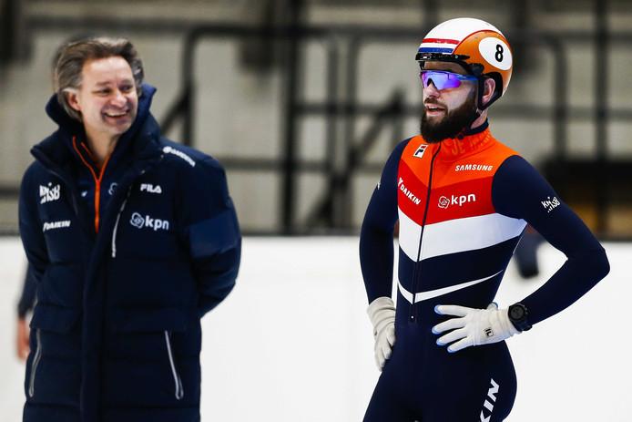 Jeroen Otter en Sjinkie Knegt.