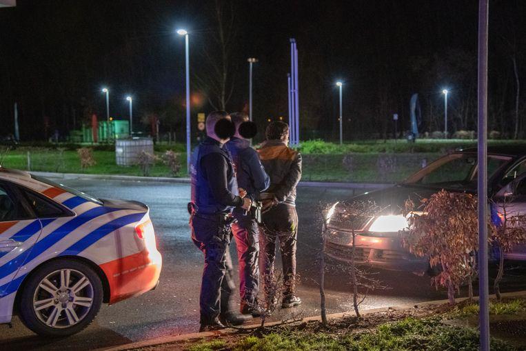 Tijdens de zoekactie werden verschillende personen gearresteerd.