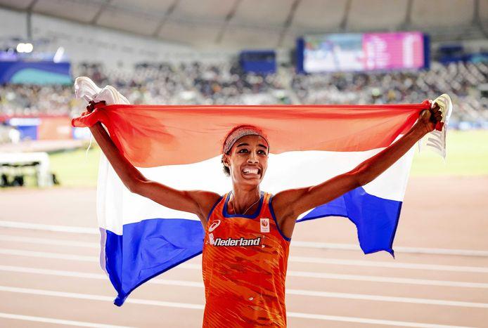 Sifan Hassan zorgde voor een historische dubbel bij de WK atletiek in Doha.