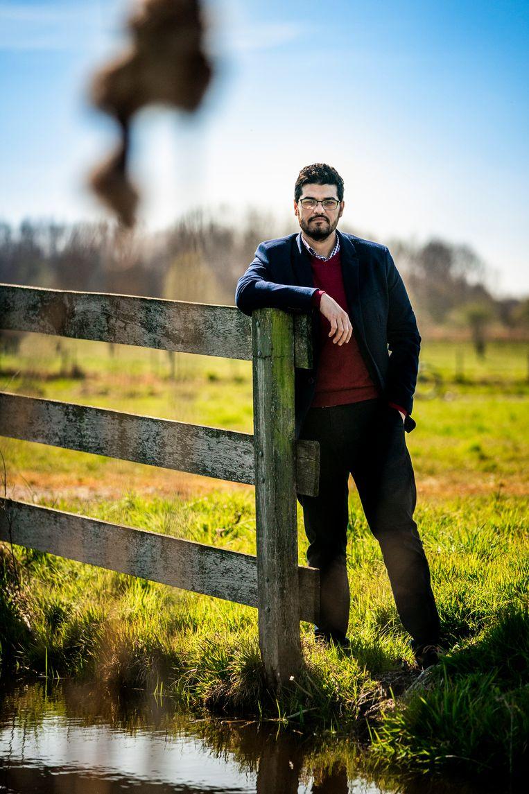 Ahmad Mohammed in Nederland. Beeld Freek van den Bergh / de Volkskrant