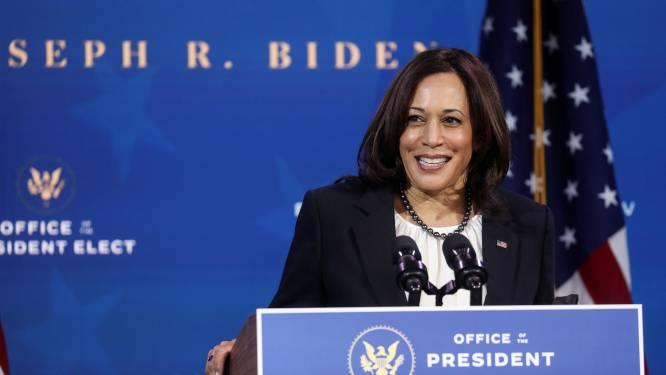 Aankomend vicepresident Kamala Harris kiest vrouwen als topmedewerkers