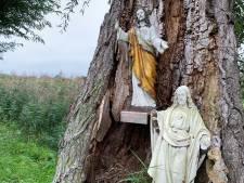 Jezus werd op Hemelvaartsdag gestolen maar met Pinksteren weer teruggebracht; nu zijn er twee