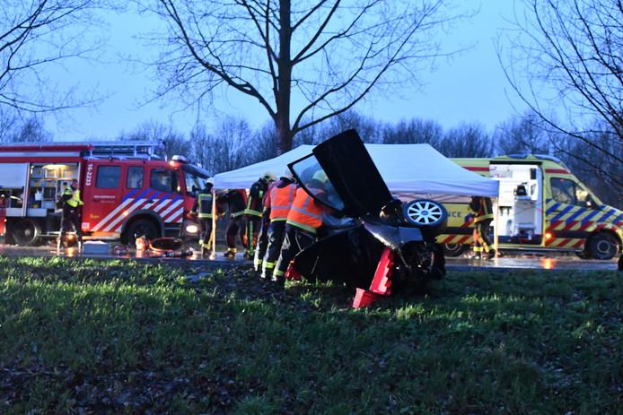 Ongeluk op de Oostkanaalweg. Foto ter illustratie.