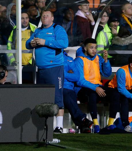 Reservekeeper Sutton eet tijdens duel met Arsenal nog pasteitje