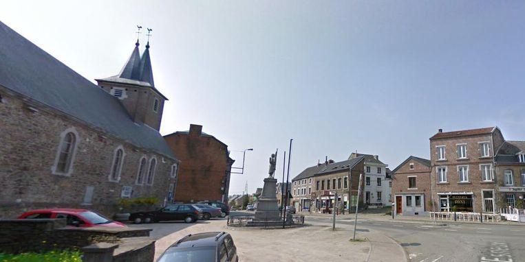 Het dorp Neupré, waar de homejacking plaatsvond.