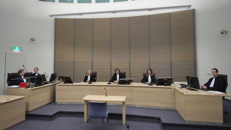 De rechtbank waar de zaak-Van Rey wordt gehouden. Beeld anp