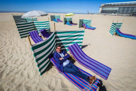 Oostende voert een reservatiesysteem in op het strand