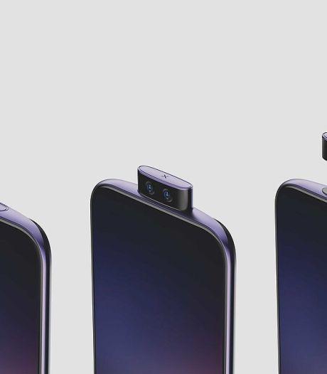 Vivo toont smartphone met afneembare uitklapcamera
