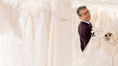 """Randy: """"Er bestaat een jurk voor iedereen. Ik heb nog nooit iemand naakt naar het altaar zien lopen"""""""