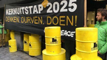 """""""Kernuitstap 2025. Denken. Durven. Doen"""": Greenpeace voert actie bij N-VA"""