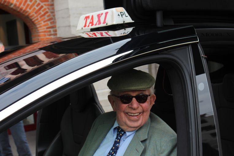 Burgemeester Leopold Lippens was zichtbaar enthousiast
