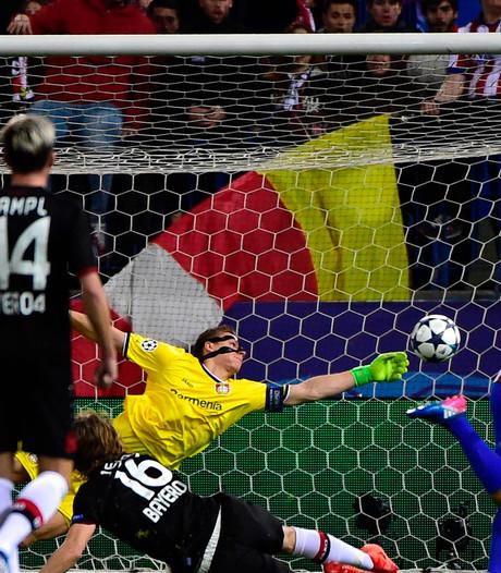 Leverkusen komt dreun uit heenduel niet te boven