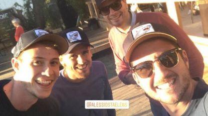 Was Dries Mertens in Kortrijkse zomerbar Azuro  aan het feesten?