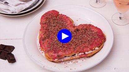 Verover de m/v van je dromen met deze zelfgemaakte valentijnseclair