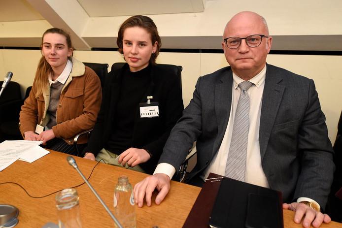 Adélaïde Charlier, Anuna de Wever et Jean-Luc Crucke