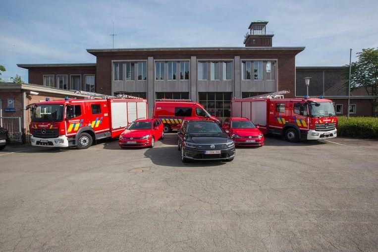 De brandweer van Hasselt heeft voortaan zeven nieuwe voertuigen ter beschikking, die rijden op aardgas.