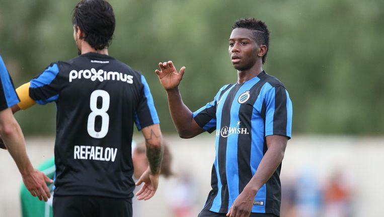 Abdoulay Diaby scoorde twee keer voor Club Brugge.