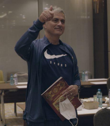 Le joli geste de José Mourinho, en hommage au père d'un journaliste macédonien décédé