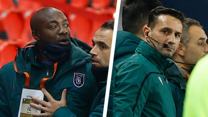 Reconstructie van gestaakte PSG-Basaksehir na beschuldigingen van racisme: Belgische UEFA-afgevaardigde moest bemiddelen, Roemeense refs met verleden en statement Turkse president