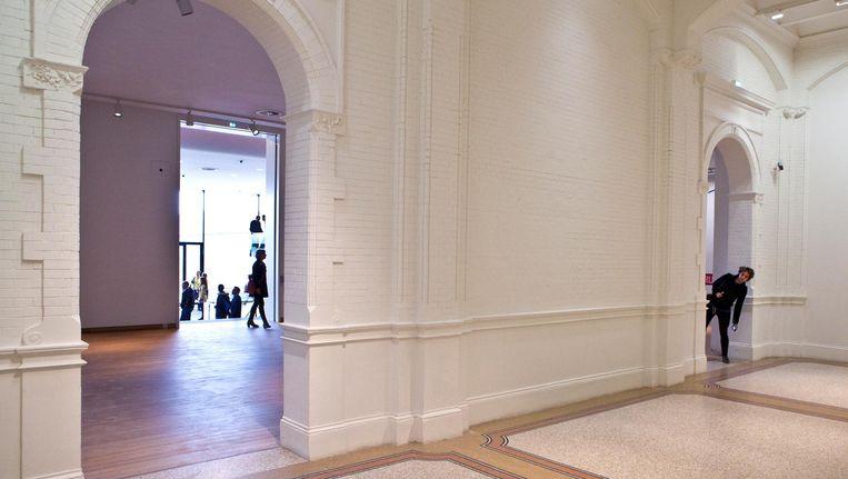 Het oorspronkelijke gebouw van het Stedelijk had een logische indeling Beeld Floris Lok