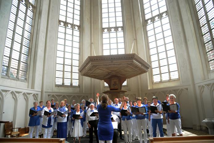 Vox Jubilans uit Waddinxveen trad twee jaar geleden op tijdens Middelburg VOLkoren.