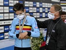 Van Aert: Twee keer zilver is mooi, maar ik fiets om te winnen
