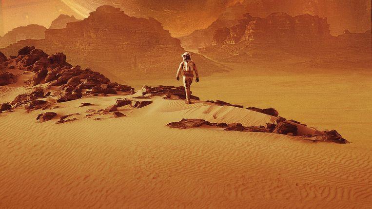 Fragment uit de film The Martian. Beeld