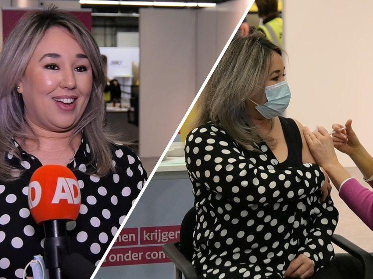 Sanna krijgt als eerste haar tweede coronaprik: 'Gevoel van vrijheid'