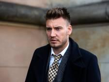 Bendtner legt zich neer bij korte gevangenisstraf