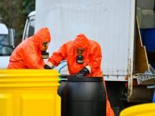 Vrachtwagentje vol met drugsafval achtergelaten in centrum Bergeijk: 'Hoe krijg je het verzonnen?'