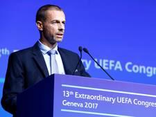 Ceferin wil strengere transferregels: 'Het moment is daar'
