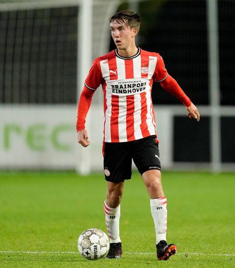 Dennis Vos keert terug in Zuidoost-Brabantse defensie van Jong PSV: 'Het is snel gegaan'