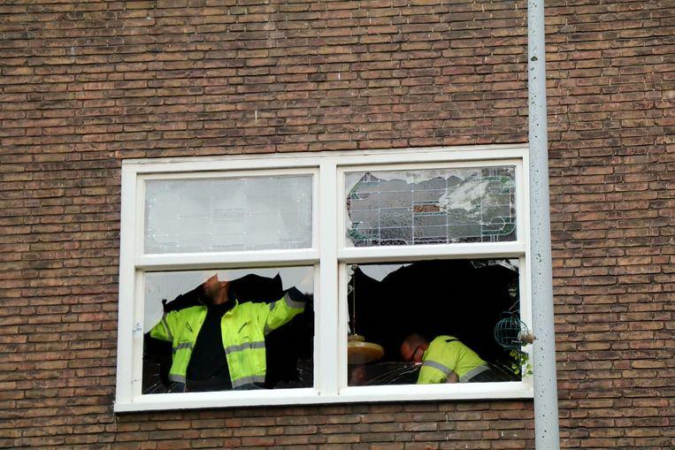 Plofkraak Haarlemmermeerstraat Beeld Het Parool