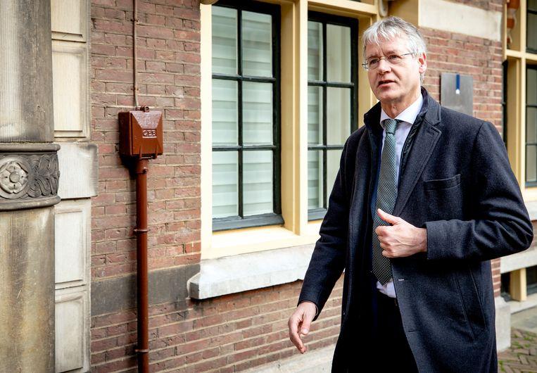 Onderwijsminister Arie Slob wijst de aanvraag van het islamistische Avicenna College af. Beeld ANP