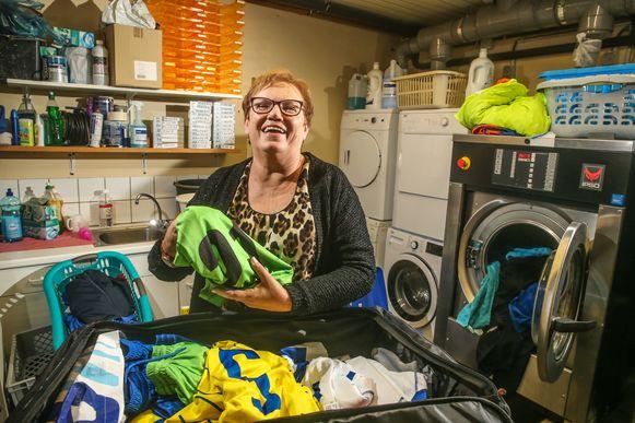 Lucie Van Steelandt is vrijwilliger bij Waasland-Beveren.