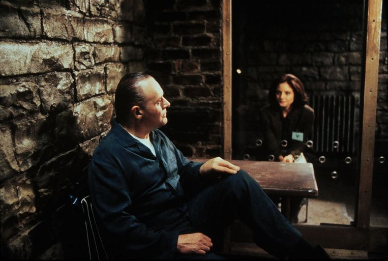 Anthony Hopkins met Jodie Foster in 'Silence of the Lambs'