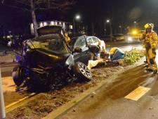 Zoektocht naar gewonde man na ongeluk op Oosteinde