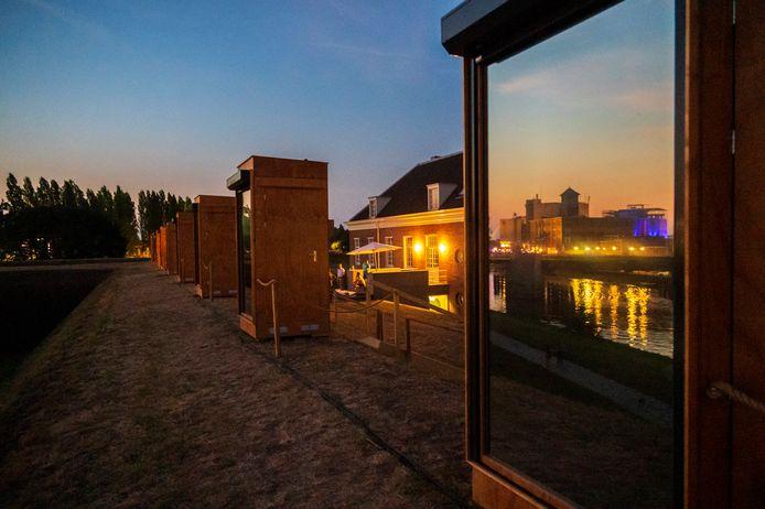 De voorstelling van Bart van de Woestijne in 2020 speelde zich af op de Citadel. Foto Karin Jonkers