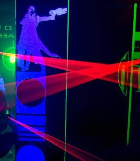 Wehl kent primeur met eerste opblaasbare lasergamehal van Nederland