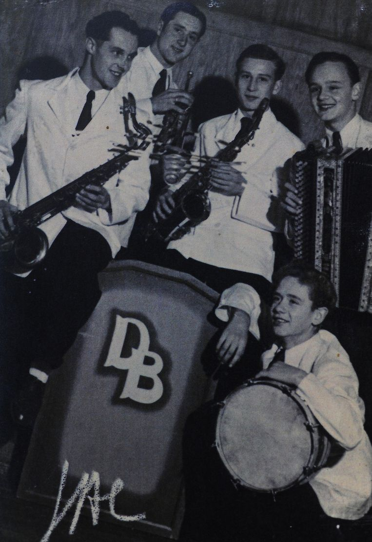 Pieter Croon speelde met The Benny's op heel wat bals.