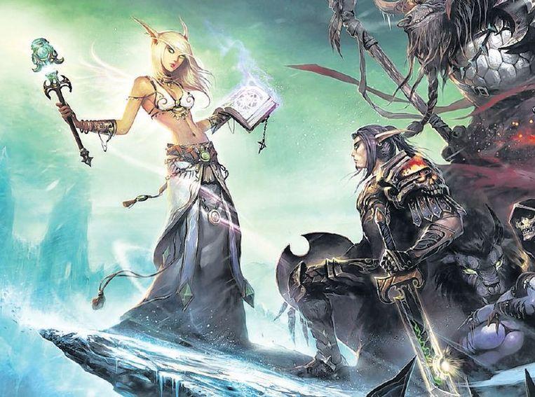 'World of Warcraft' (vaak afgekort als WoW) is al ruim tien jaar een hit. Beeld Colourbox