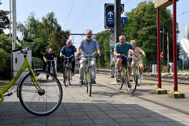 Er is opnieuw een Fietspunt aan het station van Zele. Een nieuwigheid: er worden ook fietsen verhuurd.