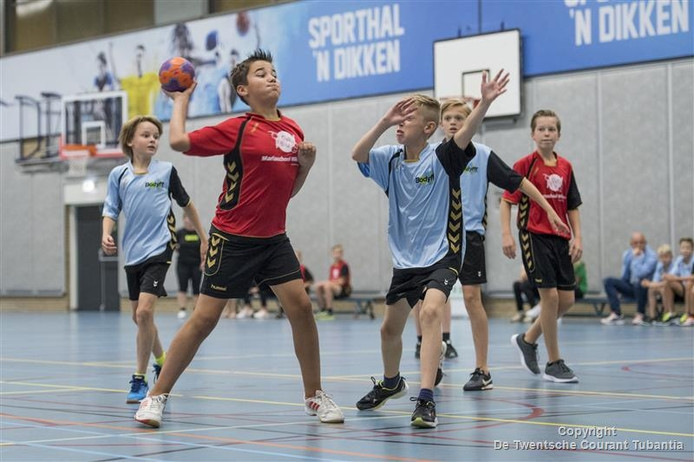 schoolhandbal in Wierden