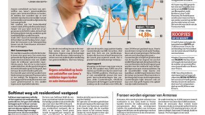 Argenx meer dan 4 miljard euro waard